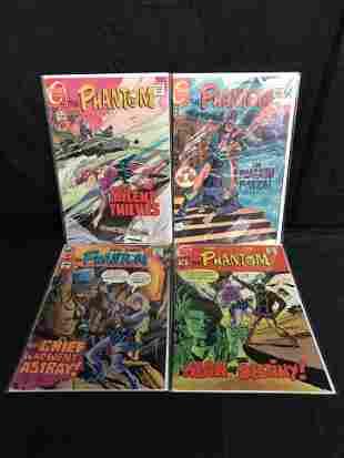 THE PHANTOM COMIC BOOK LOT (CHARLTON COMICS)