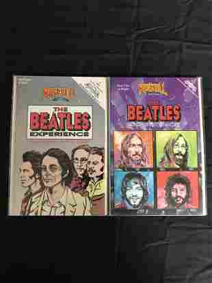 THE BEATLES EXPERIENCE COMIC BOOK LOT (ROCK N' ROLL