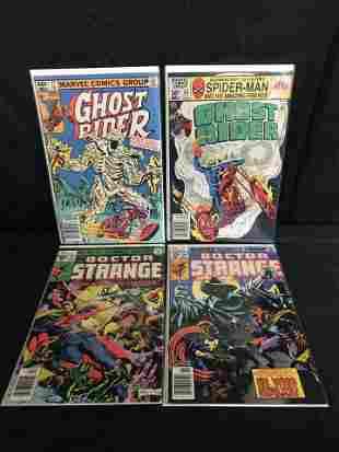 GHOST RIDER/ DOCTOR STRANGE COMIC BOOK LOT (MARVEL