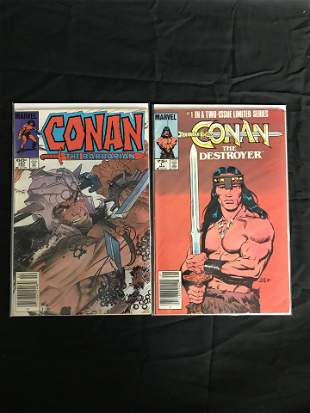 CONAN COMIC BOOK LOT (MARVEL COMICS)