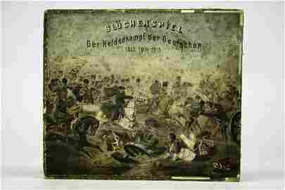 """13414: 1 Bl�cher Spiel """"Der Heldenkampf der Deutschen"""","""