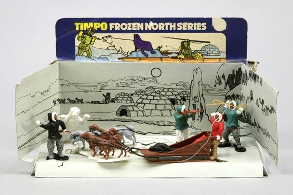 5554: 1 Timpo Frozen North Series OK: Hundeschlitten vo