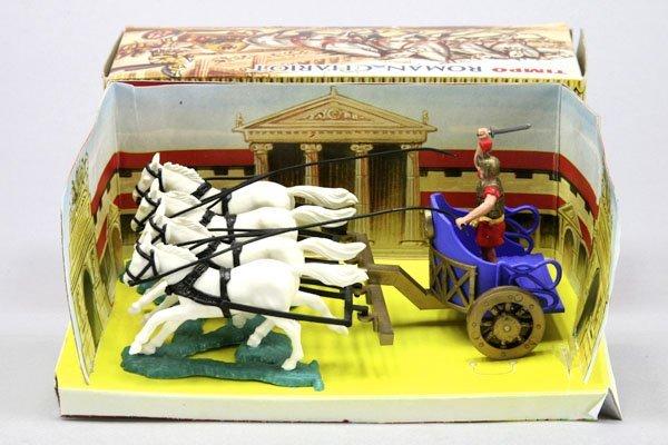 5556: 1 Timbo Roman Chariot (Römischer Streitwagen), bl