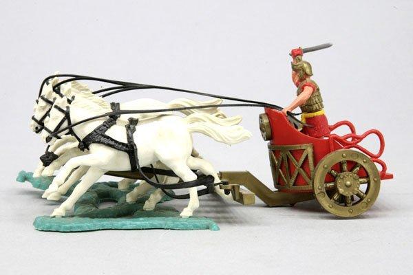 5557: 1 Timbo Roman Chariot (Römischer Streitwagen), ro