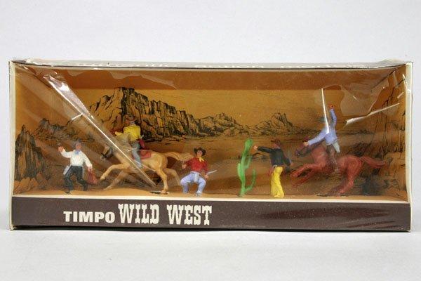 5562: 1 Timpo Wild West OK Nr. 2/4/2: zwei Cowboys zu P