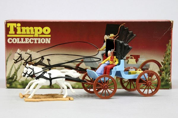 5563: 1 Timpo Wild West Collection Kutsche Nr. 275, mit