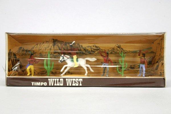 5564: 1 Timpo Wild West OK Nr. 3/8: 1 Indianer zu Pferd