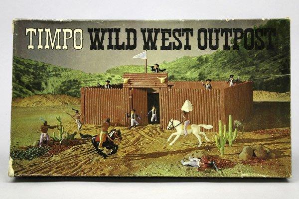 5570: 1 Timpo Wild West Outpost Nr. 257: 2 Indianer zu