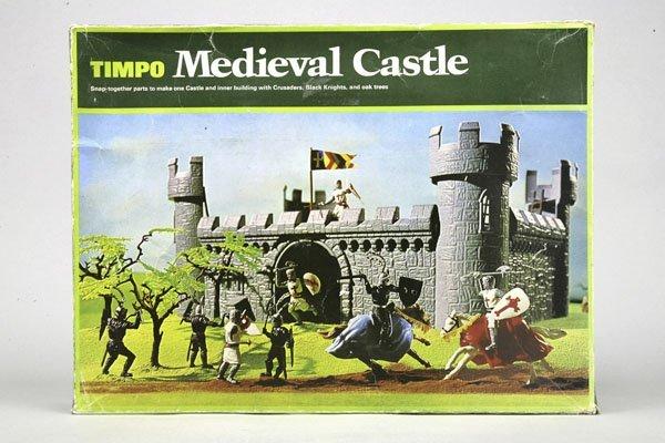 5577: 1 Timpo Medieval Castle Nr. 1802: 1 Mauerteil mit
