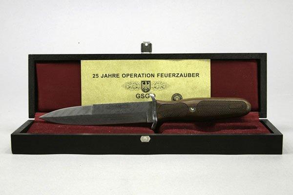 5678: 1 Messer GSG 9, 25 Jahre Operation Feuerzauber, r