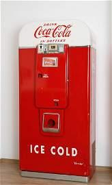 5859: 1 Vendo Cola-Automat, 50er Jahre, intakt, B/T/H 7