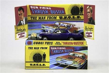"1505: 1 Corgi Toys Set ""The Man from U.N.C.L.E."" (Solo"