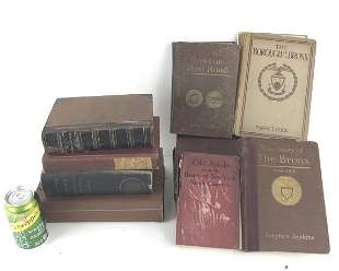 Group of 9 Bronx and Westchester books