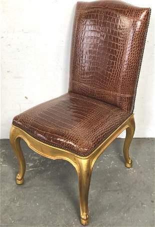 Ralph Lauren Duke Giltwood Dining Chair
