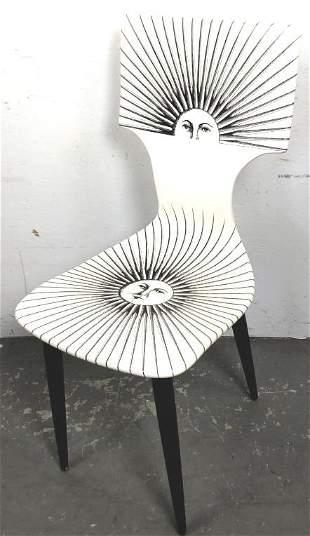 Piero Fornasetti Sole Chair