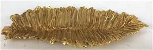 Galerneau Gilded Bronze Leaf Bowl