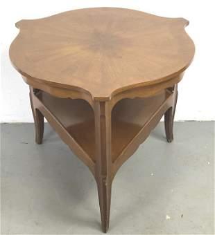 Baker Mahogany Round Table