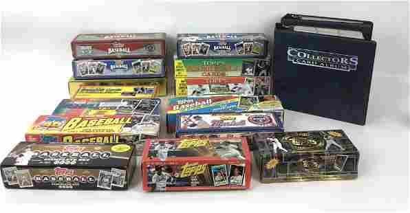 Large Lot of Topps Baseball Cards Comprising of 14 box