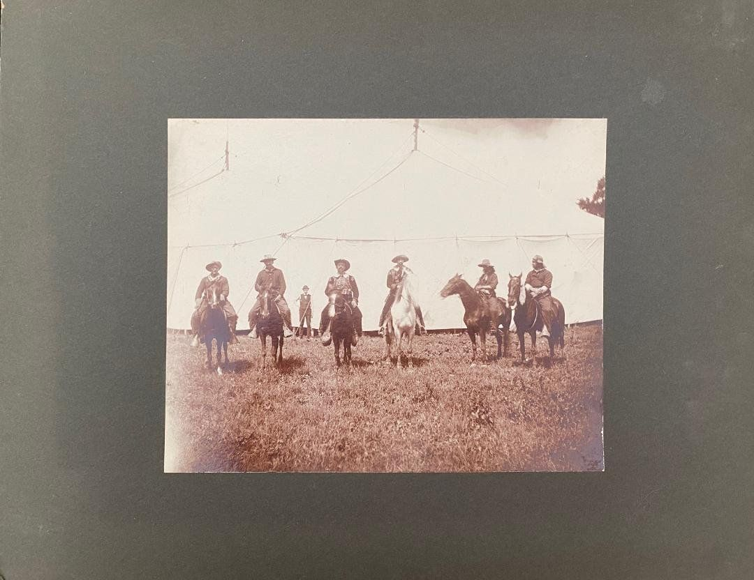 Original Cowboy Wild West Show photograph Buffalo Bill