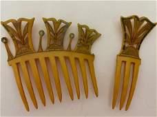 Vintage Blond Hair Comb Ca. 1920