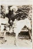 Mexican Revolution Original Photograph RPPC 1910 VILLA