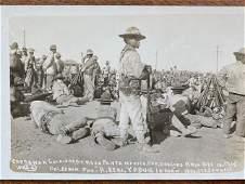 Mexican Revolution Original Photograph RPPC 1915