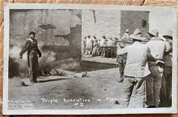 Mexican Revolution Original Photograph RPPC ca 1910