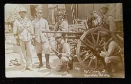 Mexican Revolution original photograph RPPC circa 1910