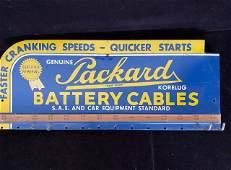 Vintage Packard Battery Cables Vintage Ad metal Sign