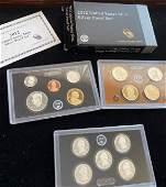 US Mint 2012 silver proof set