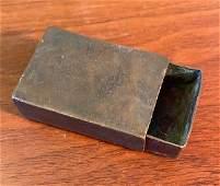 WWI Trench Art Matchbox Holder