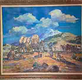 Marjorie Reed Original Signed Painting