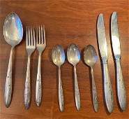 Gorham Celeste Sterling flatware 8 piece