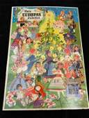 Vintage German Advent Calendar NICE ca 1940