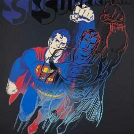 Andy Warhol Superman Screenprint Myths Suite D.Dust