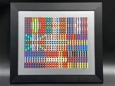Agam Flags of All Nations Custom Framed