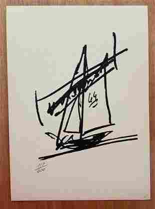 President John F. Kennedy Doodle LE Ship of State