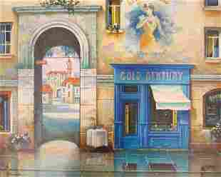 Alexander Borewko Untitled #27225 Original Str Oil