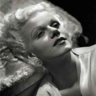 George Hurrell Jean Harlow 1934 Photolitho