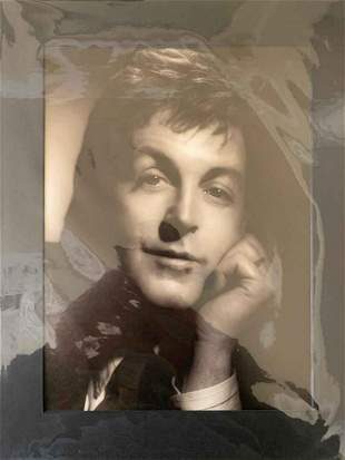 George Hurrell Paul McCartney Photolitho
