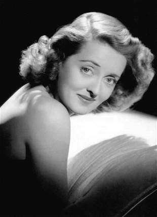 George Hurrell Bette Davis Photolitho