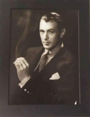 George Hurrell Gary Cooper Photolitho