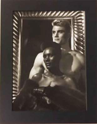 George Hurrell Grace Jones & Dolph Lundgren