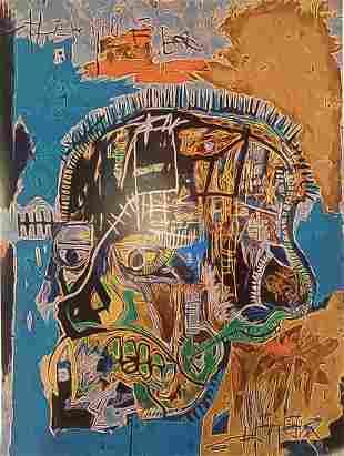Jean Michel Basquiat Untitled 1981 Offset Lithograph