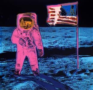 Andy Warhol Moonwalk Pink Sunday B Morning LE Serigraph