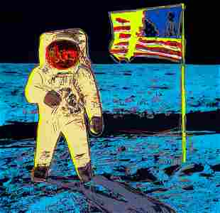 Andy Warhol Moonwalk Yellow Sunday B Morning LE Seri