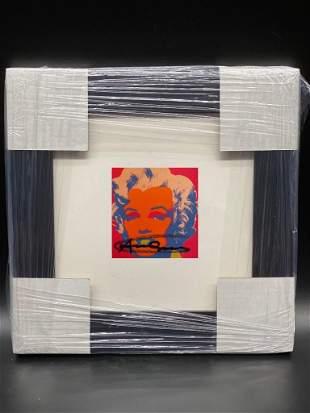 Andy Warhol MARILYN MONROE 1967 171 H/S Frmd