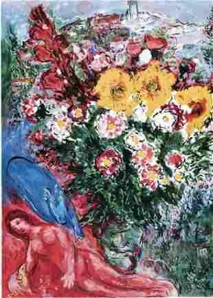 Marc Chagall Le Soucis Lithograph