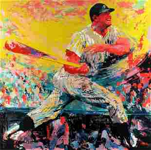 Leroy Neiman - Mickey Mantle H/S LE Serigraph