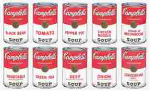 Andy Warhol - Campbells Soup Suite Sunday B Morning